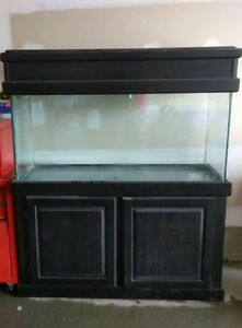 90 GALLON AQUARIUM WITH STAND AND CANOPY