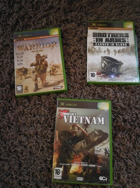 Original xbox games complete x 3