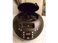Bush Portable radio/CD Boombox with Ipod Docking - Black