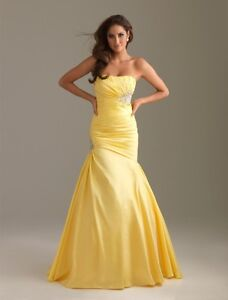 YELLOW GRAD DRESS FOR SALE! PRICE IS FLEXIBLE