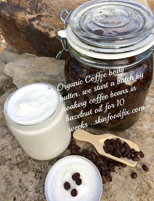 Coffee Body Butter Cream, Organic coffee Lotion moisturizer,Body butter. (Coffee Cream)