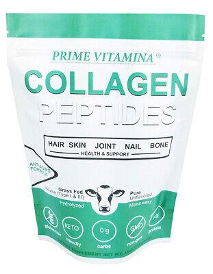 Collagen Powder | Keto-Friendly | Grass-Fed | Collagen-Peptides | Ships Free!