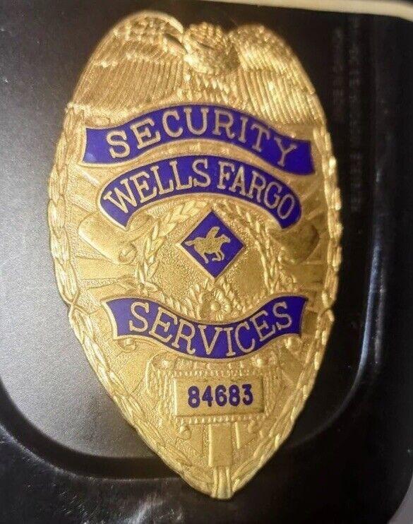Wells Fargo Services Security Badge
