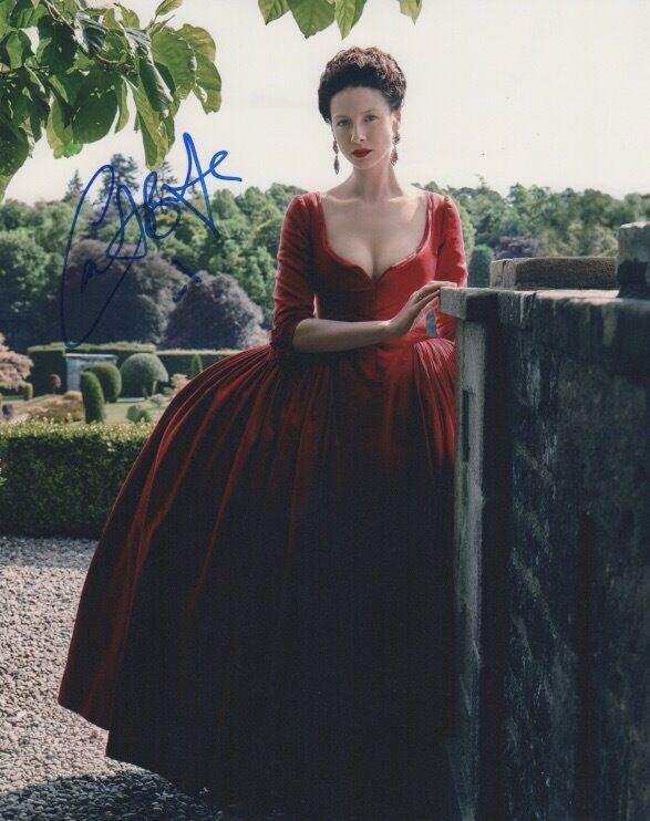 Caitriona Balfe Outlander Autographed Signed 8x10 Photo COA #6