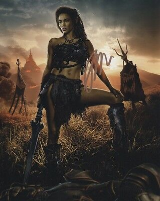 Paula Patton Warcraft Autographed Signed 8X10 Photo Coa  7
