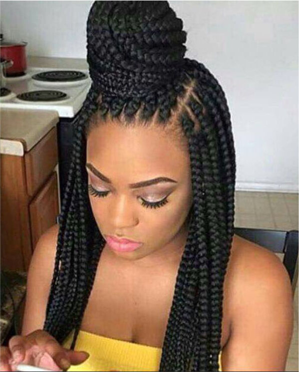 Afro hairdresser leicester la weave box braids twists for Salon locks twists tresses