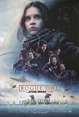 Rogue One A Star Wars Story  - original DS movie poster 27x40 D/S INTL Final