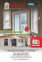 Windows & Doors Replacement in Markham - Call Now 905-597-2977