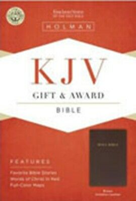 KJV Gift And Award Bible Brown Imitation Leather