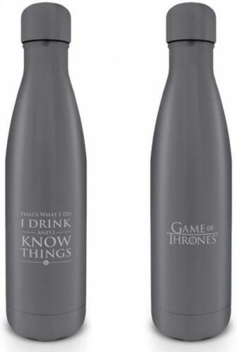 Game of Thrones - I Drink and I Know Things Metal Drink B...