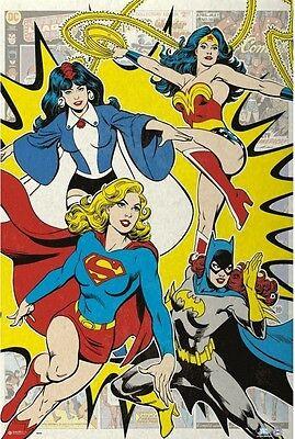 24x36 DC Comics Girl Superhero Poster shrink wrapped