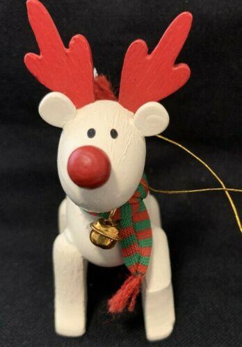 """Vintage Avon Ornament 1987 Belvedeer """"The Christmas Reindeer"""""""