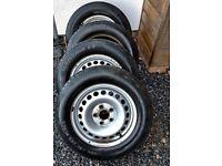 Set of 4 215/65/16 Volkswagen Transporter T5 T6 Wheels Tyres x4