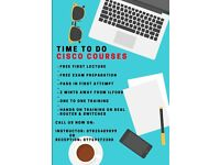 Cisco CCNA 200-125 training one to one & hands on. Pass in first attempt !!!