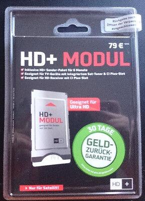 UHD/4K fähiges HD+ CI+ Modul für ASTRA-Satelliten inkl. Smartcard für 6 Monate