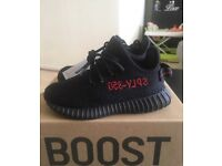 Adidas X Kanye West INFANT Yeezy Boost 350 V2 BRED 7.5K