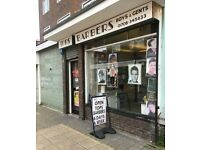 Self Employed Full/Part Time Barber Rqd Romford