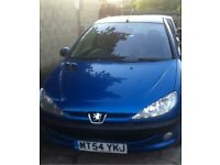 Full year mot Peugeot 206 cheap insurance perfect for new drivers