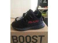 Adidas X Kanye West Yeezy Boost 350 Infant V2 BRED Size 7.5UK