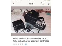 Wanted wheelchair motor assistants