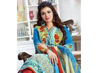 LEVISHA HASEEN VOL-7 WHOLESALE PAKISTANI PRINT DRESS MATERIAL