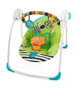 "Baby Swing- ""Bright Starts"" (portable/ folding)"