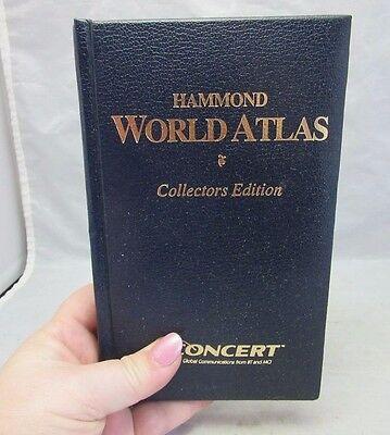 1997 Hammond World Atlas Collectors Edition book