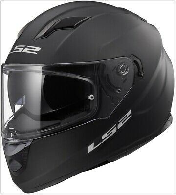 M 57//58 LS2 Integralhelm FF353 RAPID SOLID schwarz matt Helm Motorrad Gr