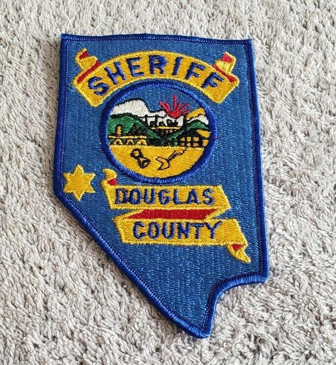 Douglas County Nevada Sheriff Shoulder Patch OS