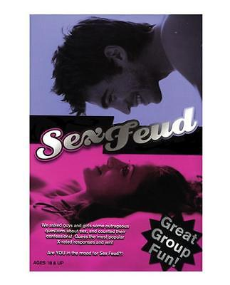 Sex Feud, Fun Adult Party Game,  Great for Groups,  College Dorms,  Spring Break - Spring Break Party Games