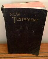Antique New Testament Bible