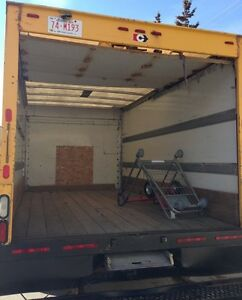 Moving 60$/hr - No other charges - 16ft Cube Van