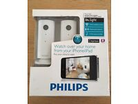 Philips In sight M100/37 Wireless Home Monitor (Two-pack)