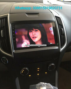 Ford Edge refit audio radio Car android wifi GPS navigation came