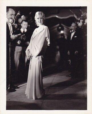 Anita Louise Original Candid Hollywood Premiere Vintage 1931 Dbw Snapshot Photo