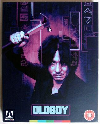 OLDBOY - 2003 - 2xBLU-RAY - ARROW UK - PARK CHAN-WOOK - 4K RESTORATION