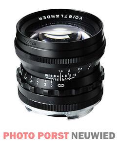 Voigtländer Objektiv Nokton 1,5/50 mm asphärisch VM schwarz