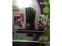 Xbox 360 Kinect 250GB + few games