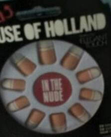 Elegant Touch House of Holland Nails In The Nude New