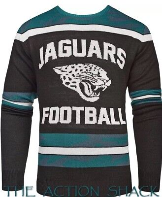 NFL Jacksonville Jaguars Football Men's Sweater - Pullover - Glow in the Dark! (Glow In The Dark Footballs)
