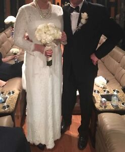 J Crew wedding dress originally sized 12 altered to fit 8/10