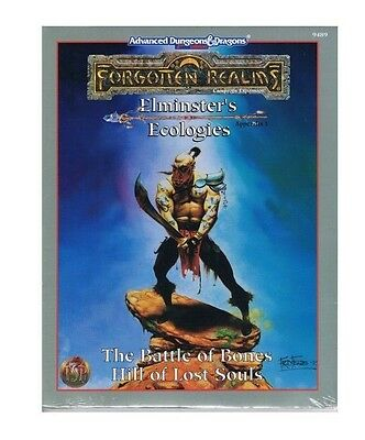 Battle Of Bones Hill of Lost Souls Forgotten Realms Elminster's Ecologies #9489