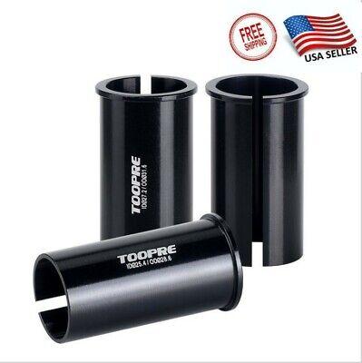 USA Mtb Bike Seat Post Shim Tube Sleeve Reducer Seatpost Converter Adapter Tool - $7.94