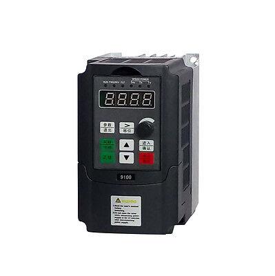 Eco Single Phase Input To 220v 3 Phase Output Frequency Converter Vfd Vsd 0.75kw