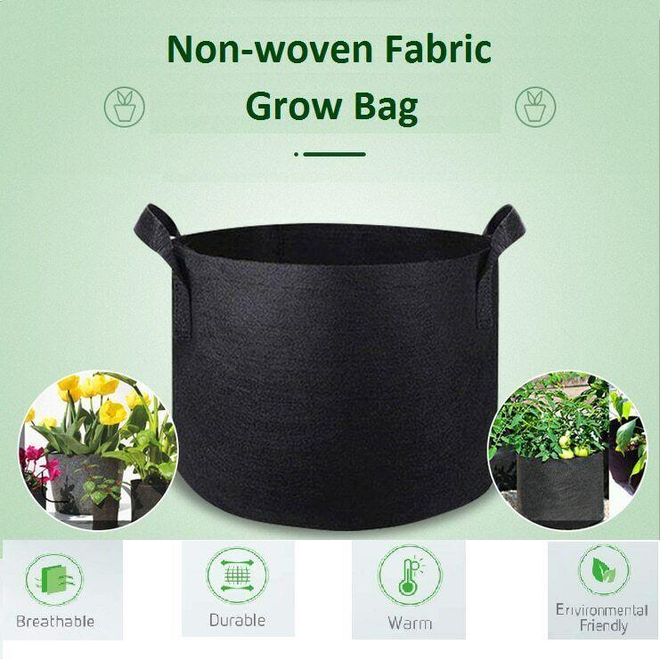 10 gallon Garden groot flower plant grow bag Vegetable Flower PotatoPlanting Con
