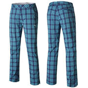 Mens Plaid Pants 34
