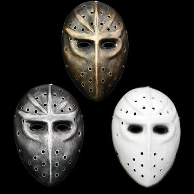 Ice Hockey Maske Halloween (Resin Payday 2 Ice Hockey Mask face Cosplay multi-color Scary Halloween party )