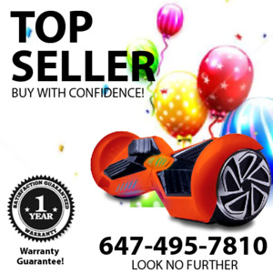 BUY WITH CONFIDENCE. HOVERBOARD STORE CALL 647 495 7810