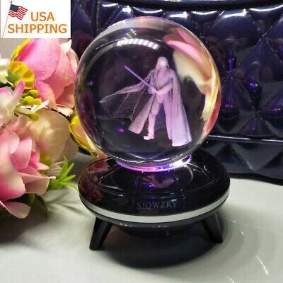 Darth Vader Crystal Night Light 3D LED Xmas Table Lamp Birthday Best  KIDS