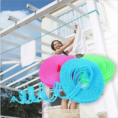 Outdoor Travel Clothesline Laundry Non-slip Washing Clothes Line Rope Portable